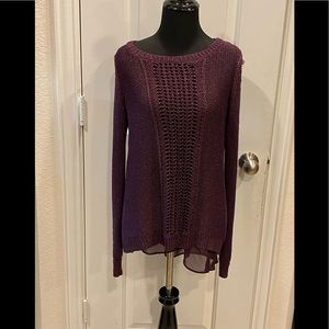 Lucky Brand Sweater Top Combo M